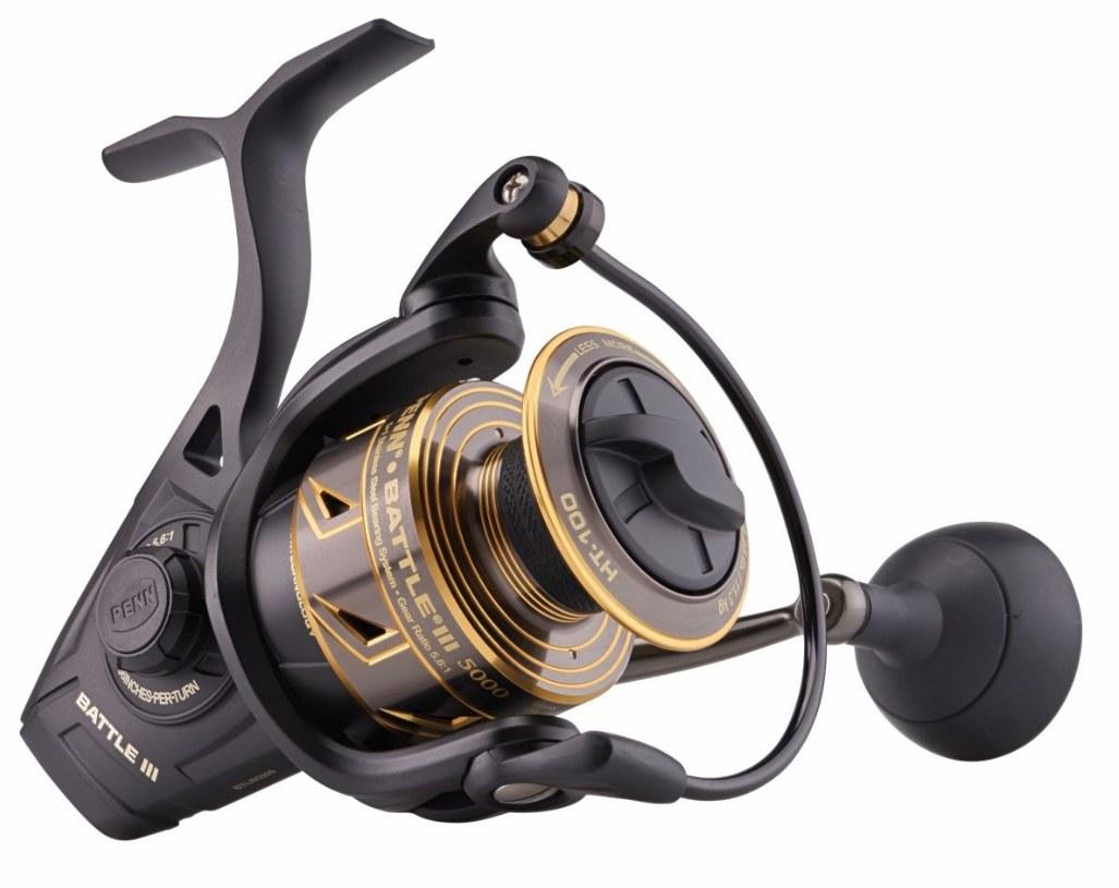 Penn Battle III LC Long Cast Spinning Fishing Reel