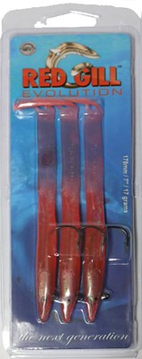 Red Gill Evolution Bright Red