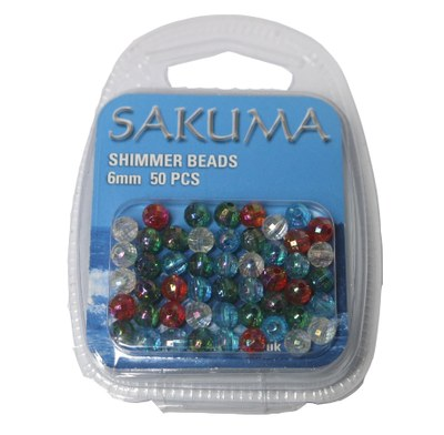 Sakuma 6mm Shimmer Beads