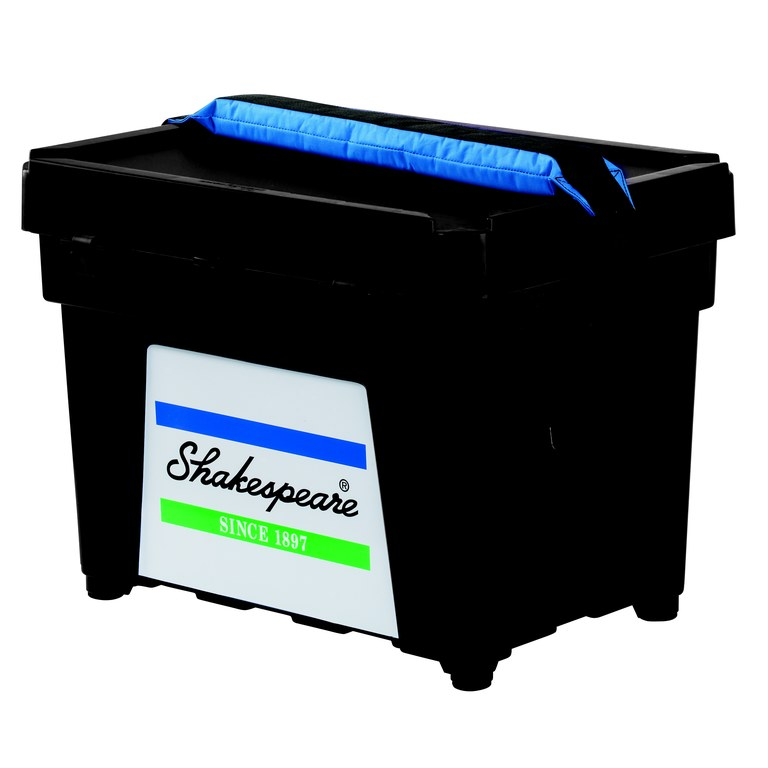 Shakespeare 'Fully Loaded' Seatbox Combo Black