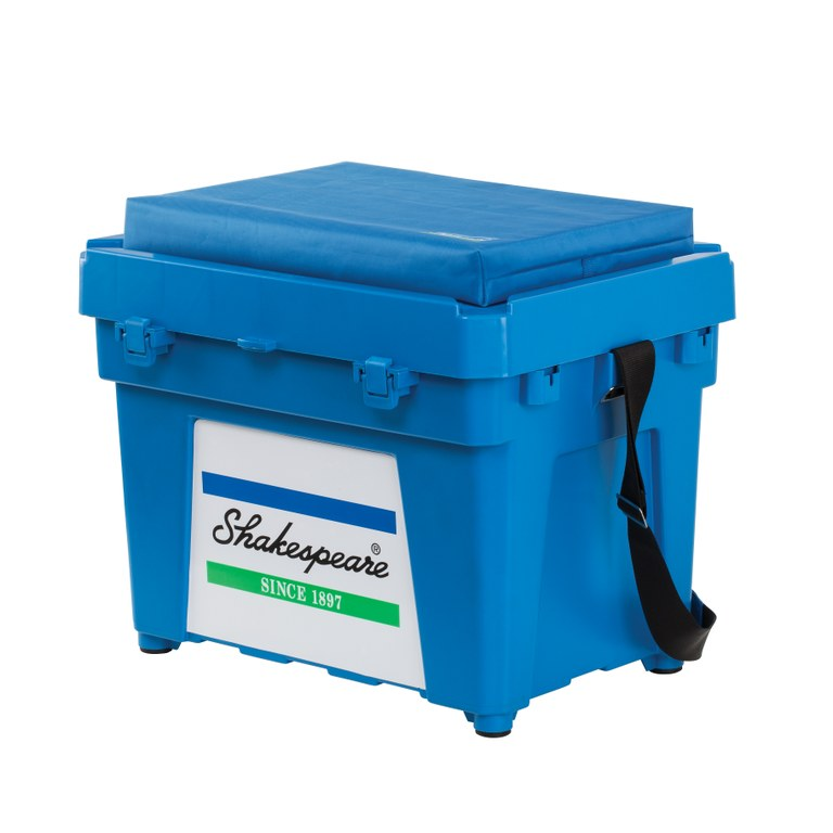 Shakespeare 'Fully Loaded' Seatbox Combo Blue