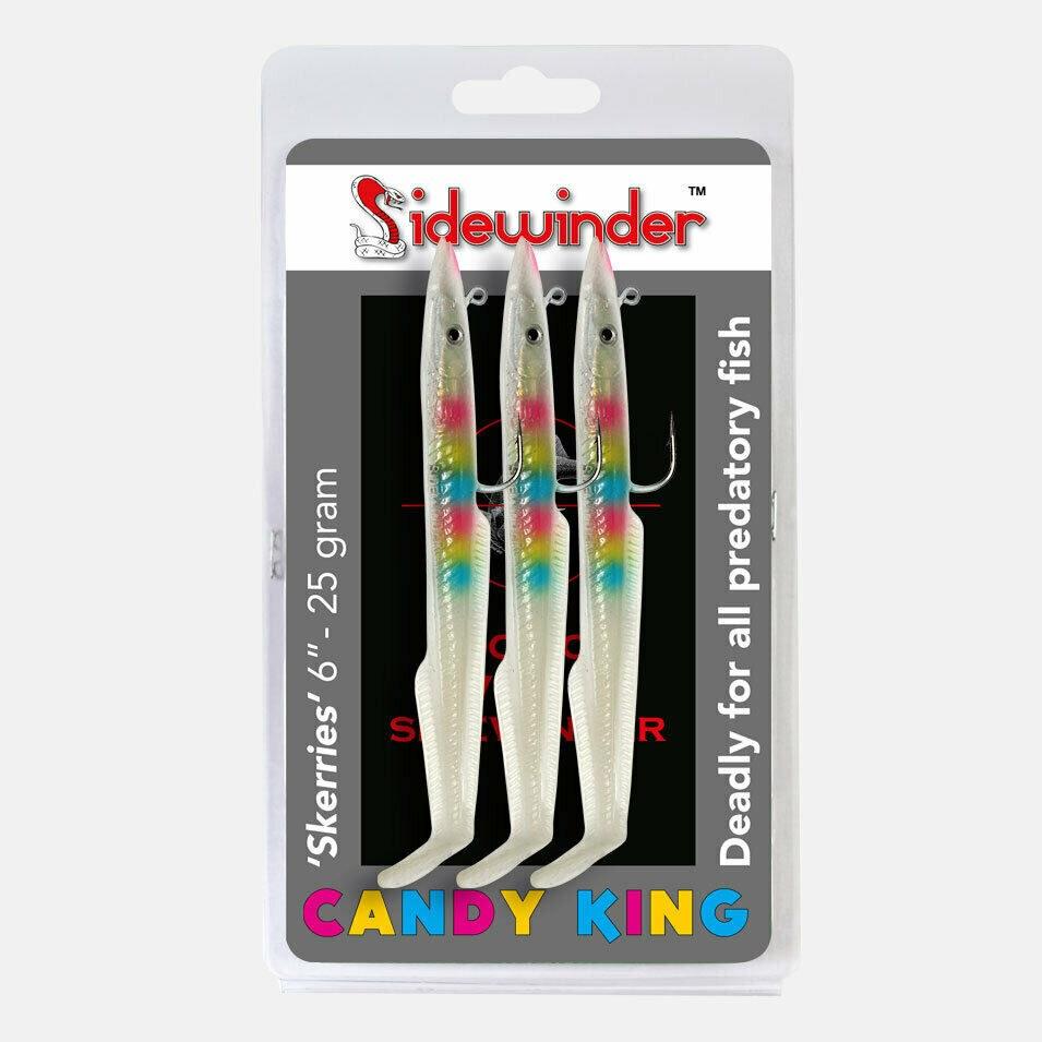 """Sidewinder Candy King Skerries Eels 6"""""""