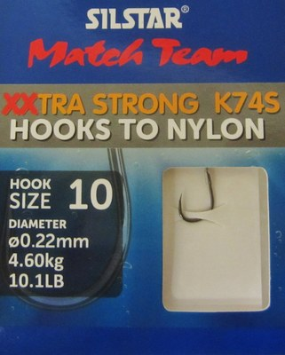Silstar XXtra Stronghooks to Nylon
