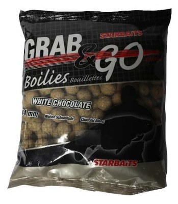 Starbaits Grab and Go White Chocolate 14mm 500g
