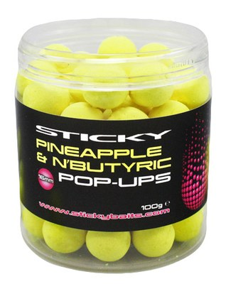 Sticky Baits Pineapple and N'Butyric Pop Ups