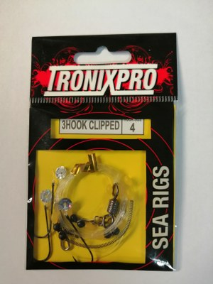 Tronixpro Hook Clipped Sea Rigs