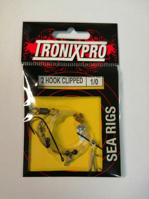 Tronixpro Hook Clipped Sea Rigss