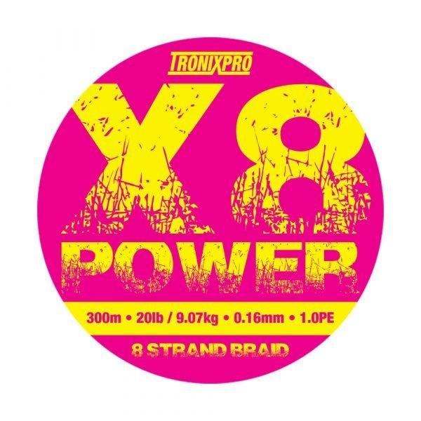 Tronixpro X8 Power Strand Braid
