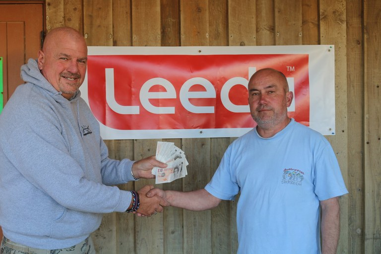 Gary Bowler winner of £250 for Longest Individual Fish a Plaice of 45cm